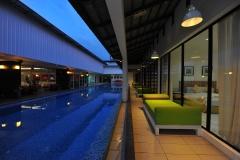 Swimming Pool Night View (2)