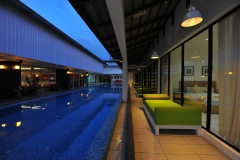 Swimming Pool Night View (2)